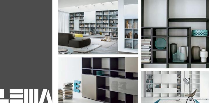 Librerie componibili a milano for Librerie pensili componibili