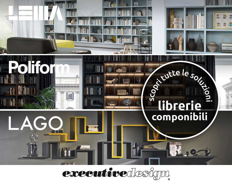 Executive Design Mobili Contemporanei.Fiam Bond